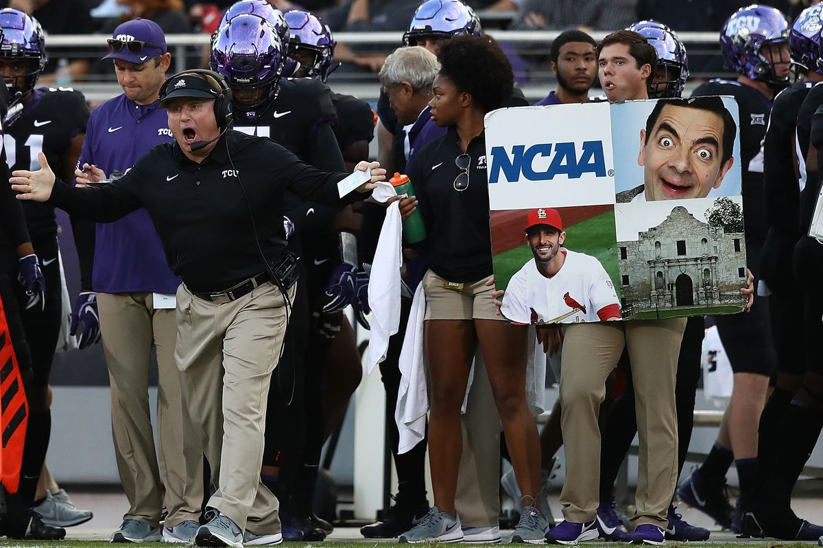 Tcu Football Announces 2019 Schedule Featuring Purdue And A Backloaded Big 12 Slate Frogs O War