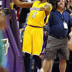 Lakers star Kobe Bryant hopes to get the better of ex-teammate Shaquille O'Neal.