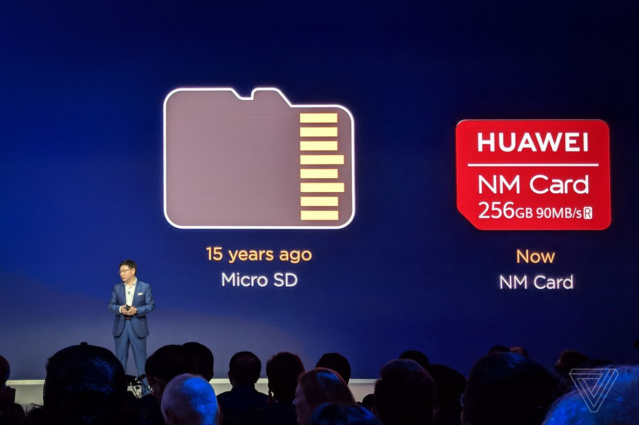huawei s nano memory cards are replacing microsd on its latest phones