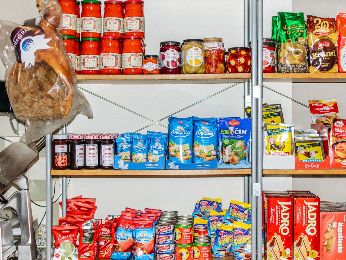 Ealing's Mugi Coffee Bar is one place in London to find and excellent selection of Balkan snacks