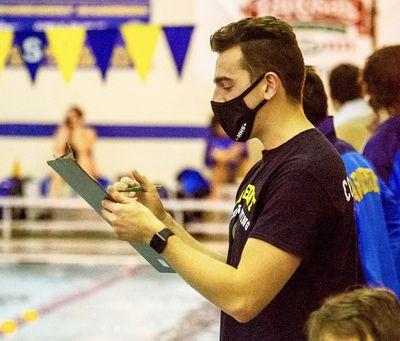 MacJilton Lewis is now a high school swim coach.