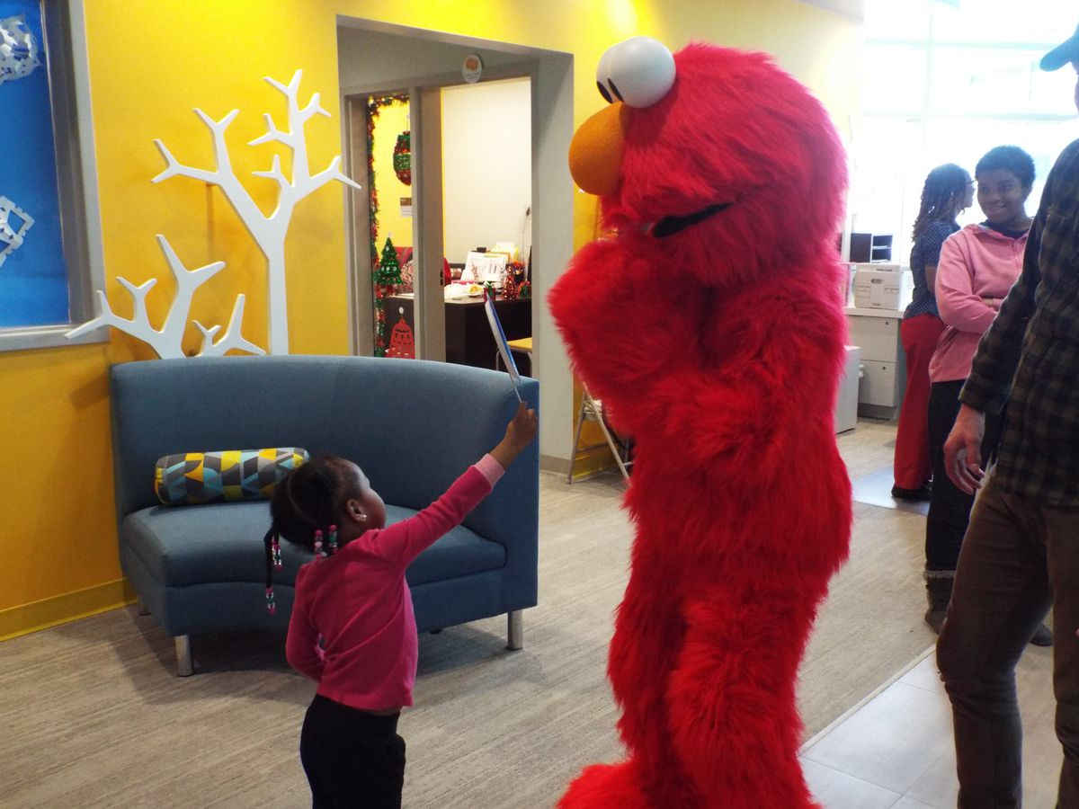 Elmo was in Memphis Tuesday for the launch of a new partnership between Sesame Street in Communities and Porter-Leath, the city's largest provider of early education services, and ACE Awareness Foundation, which provides support and spreads awareness about adverse childhood experiences or childhood traumas.
