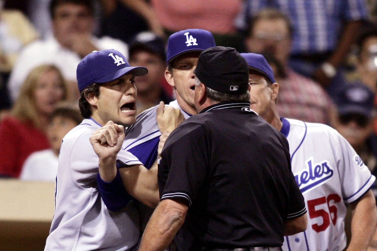Petco Park has at times driven the Dodgers mad, even the affable Robin Ventura (<em>Donald Miralle | Getty Images</em>)