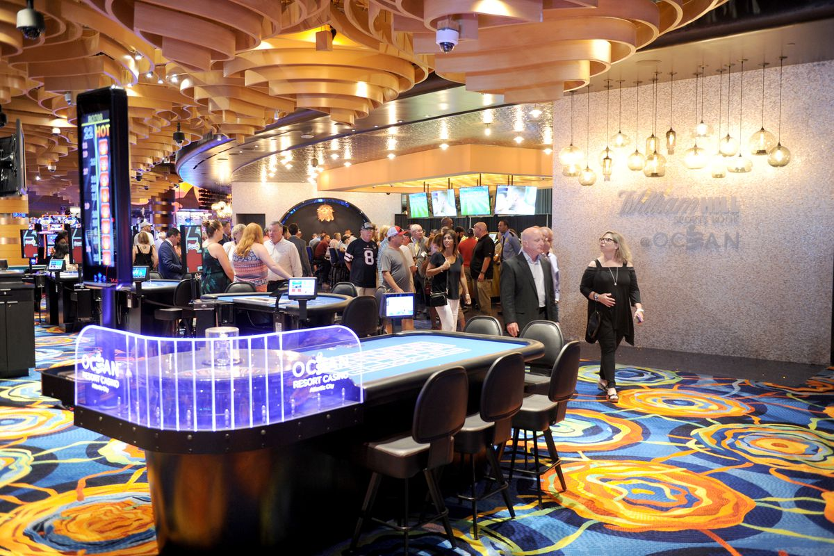 William Hill Sports Book Opening At Ocean Resort Casino In Atlantic City