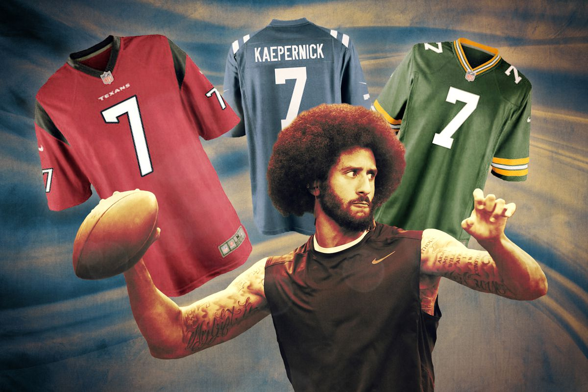 Getty Images Ringer illustration. It will be hard for Colin Kaepernick to  win his collusion lawsuit ... e10e0902a