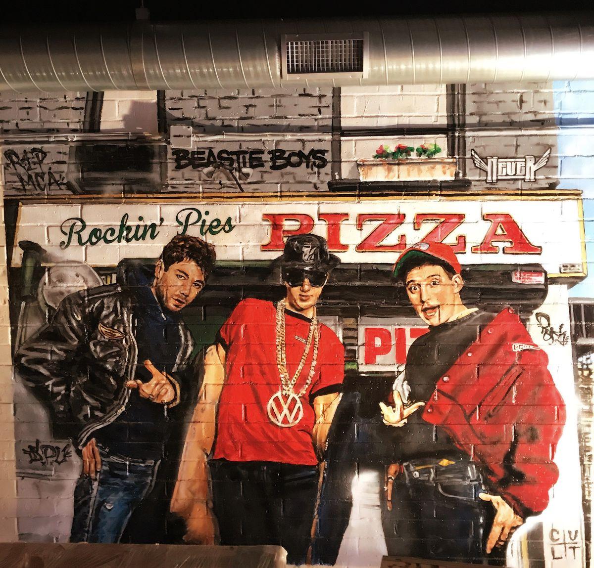 Beastie Boys at Rockin' Pies Pizza Company