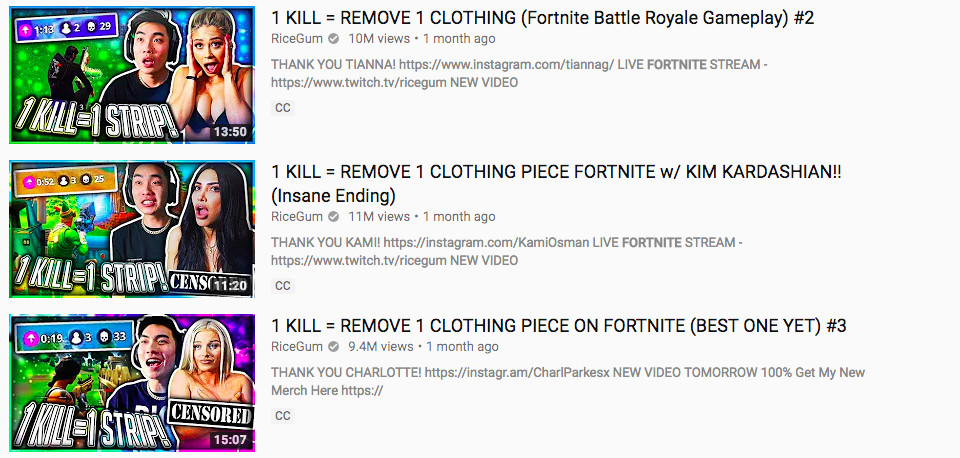 Strip Fortnite' is YouTube's worst response to the game