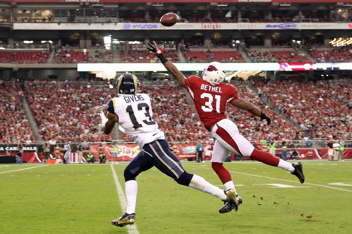 Arizona Cardinals season defined in a picture: So close to executing, but end up falling short
