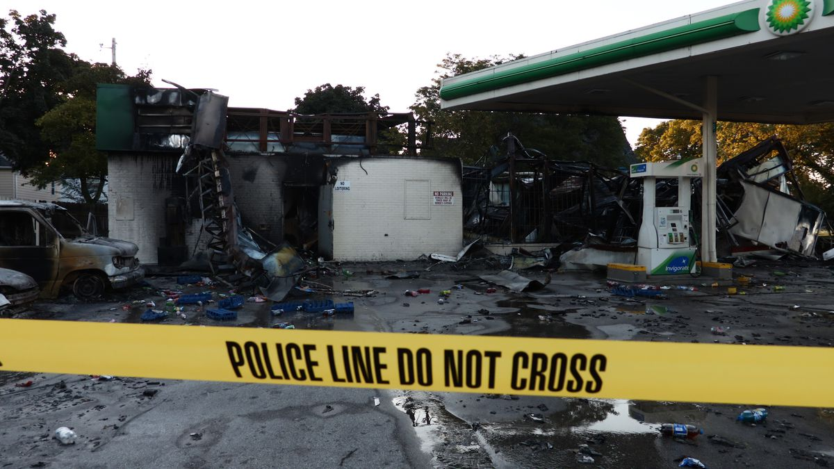 The aftermath of riots in Milwaukee after the police shooting of Sylville Smith, a 23-year-old black man.