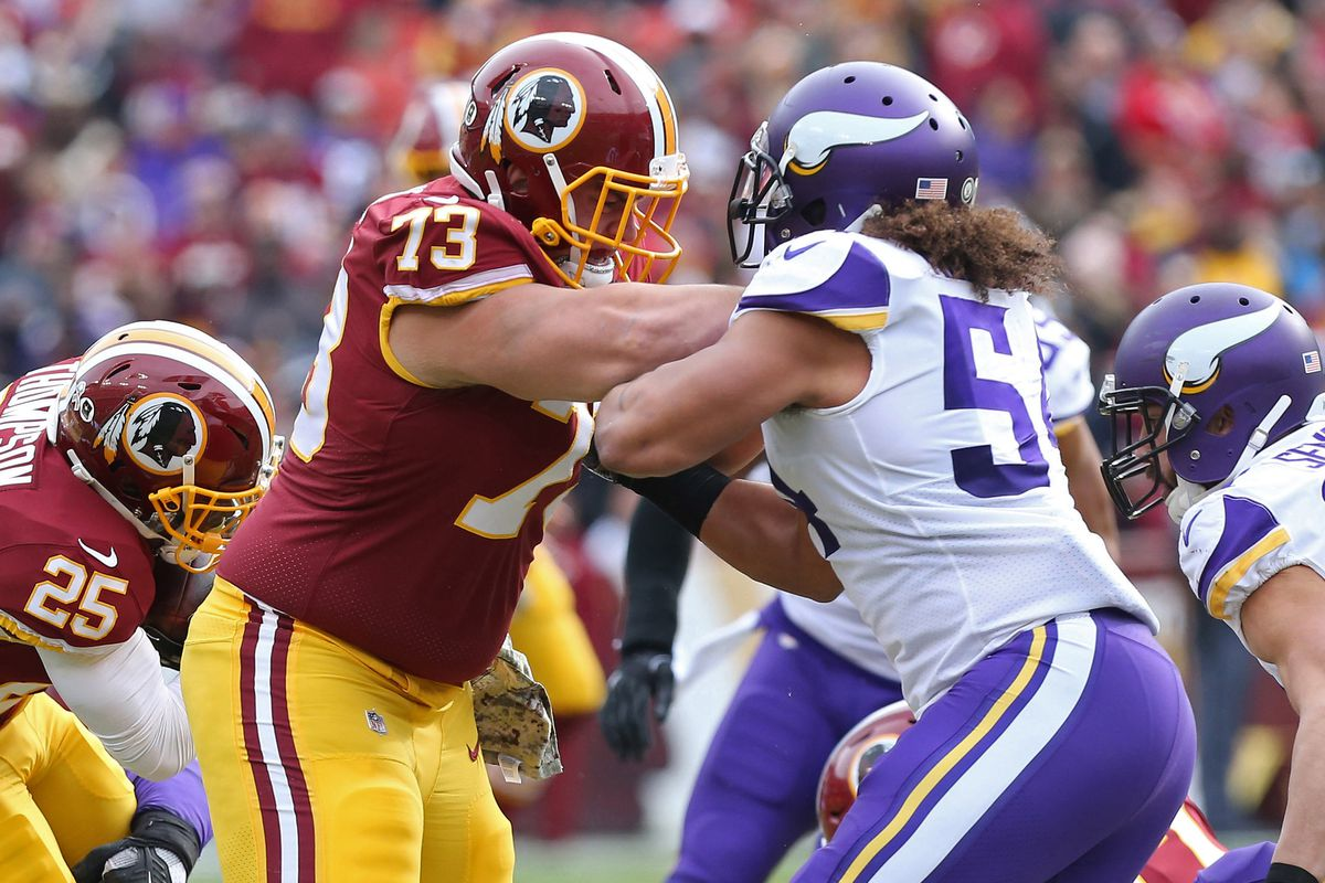 Redskins vs Chargers Inactives Trent Williams and Morgan Moses