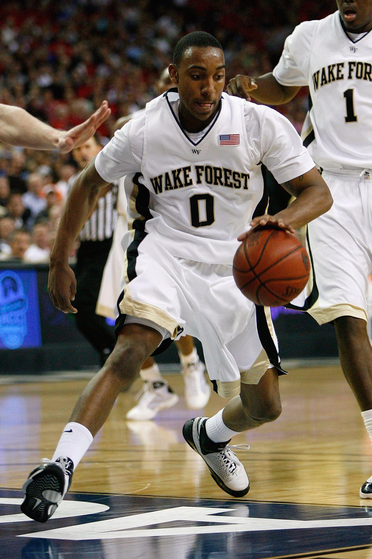 ACC Basketball Tournament - Maryland v Wake Forest