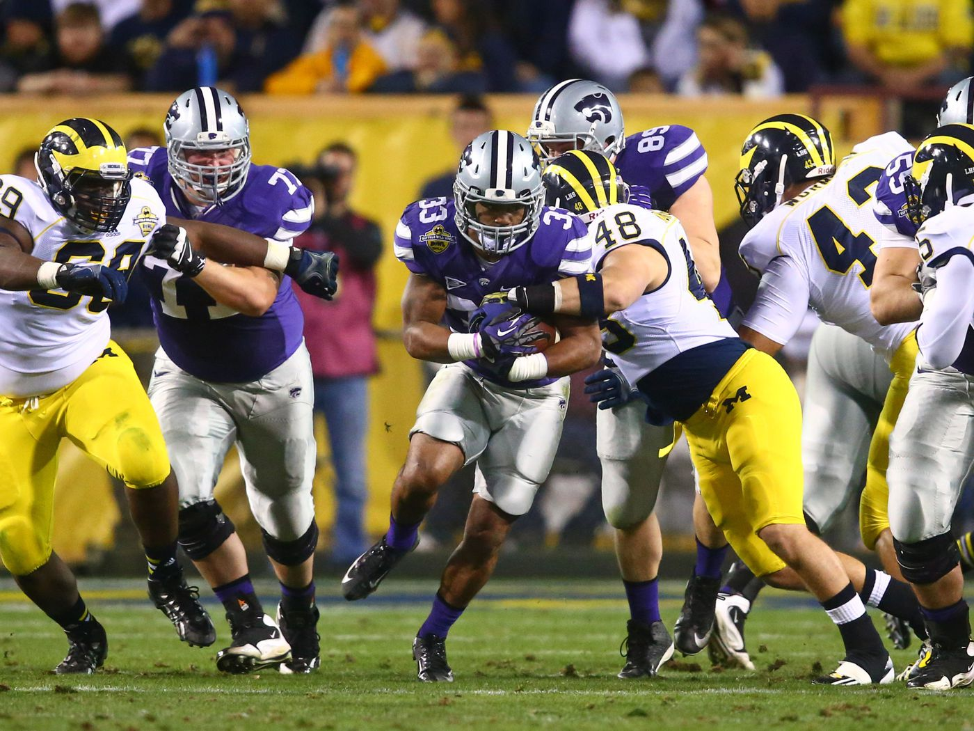 Inside The Playbook Over Under Michigan S 4 3 Defense Maize N Brew