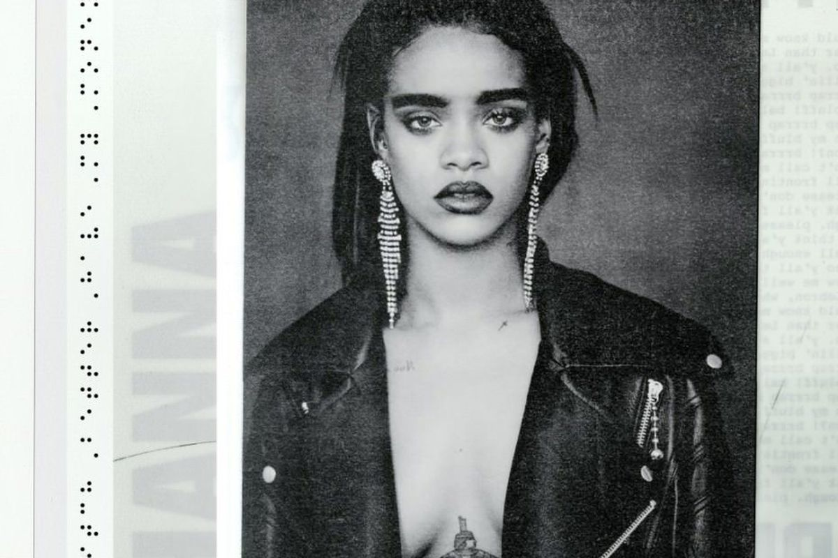The cover art for Rihanna's new single