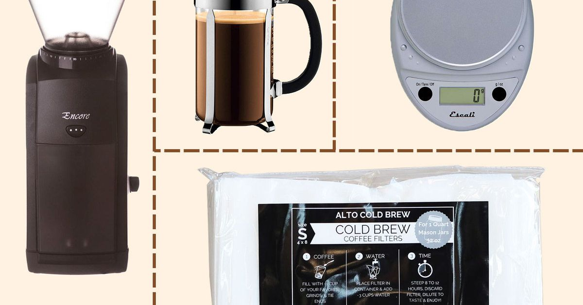Tudo o que você precisa para fazer Cold Brew como os profissionais