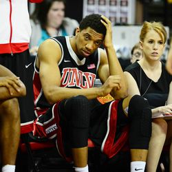 Anthony Marshall not looking good on the bench