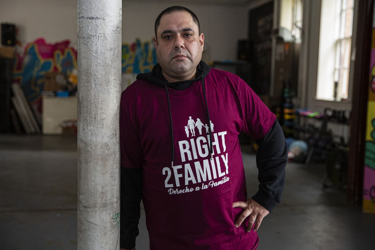 Miguel Perez, 42, is voting for president for the first time this year — one of more than 23 million U.S. immigrants eligible to do so this year..