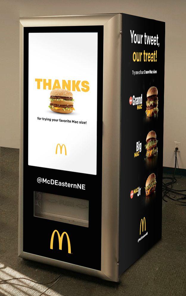 Burger vending machine