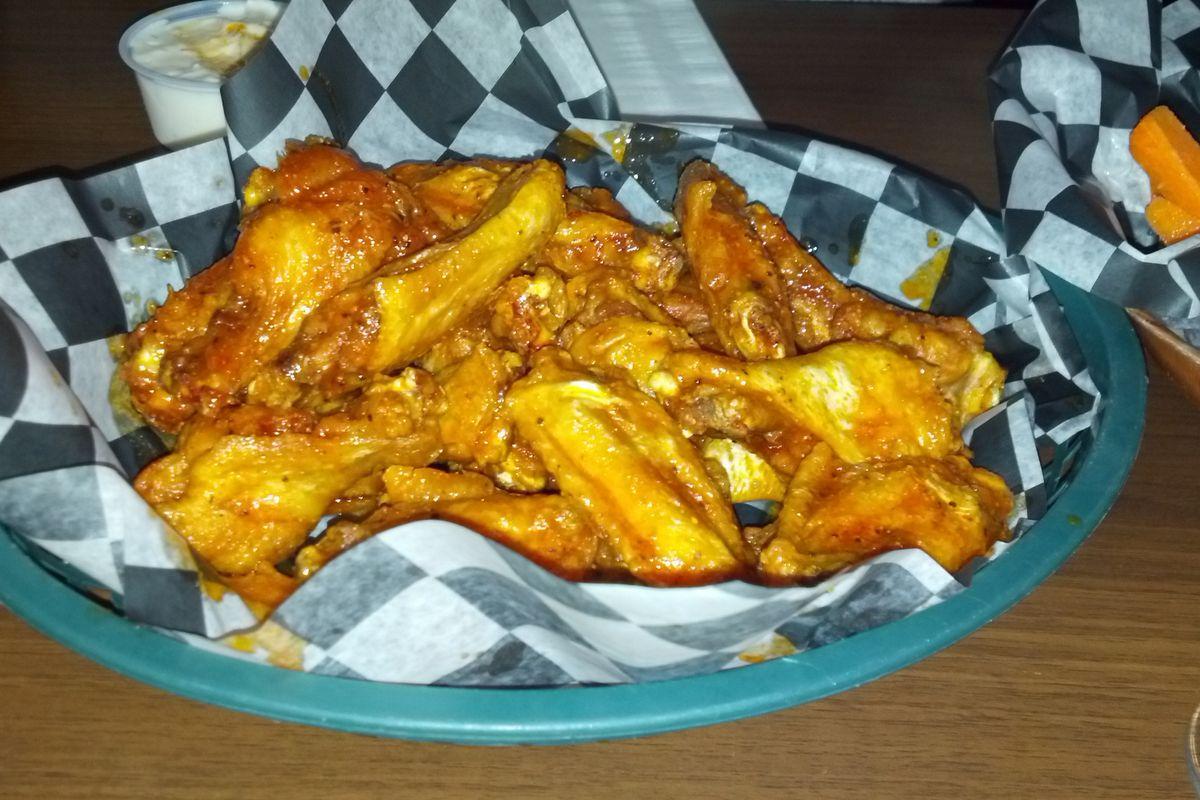 Chicken wings make the world go round.