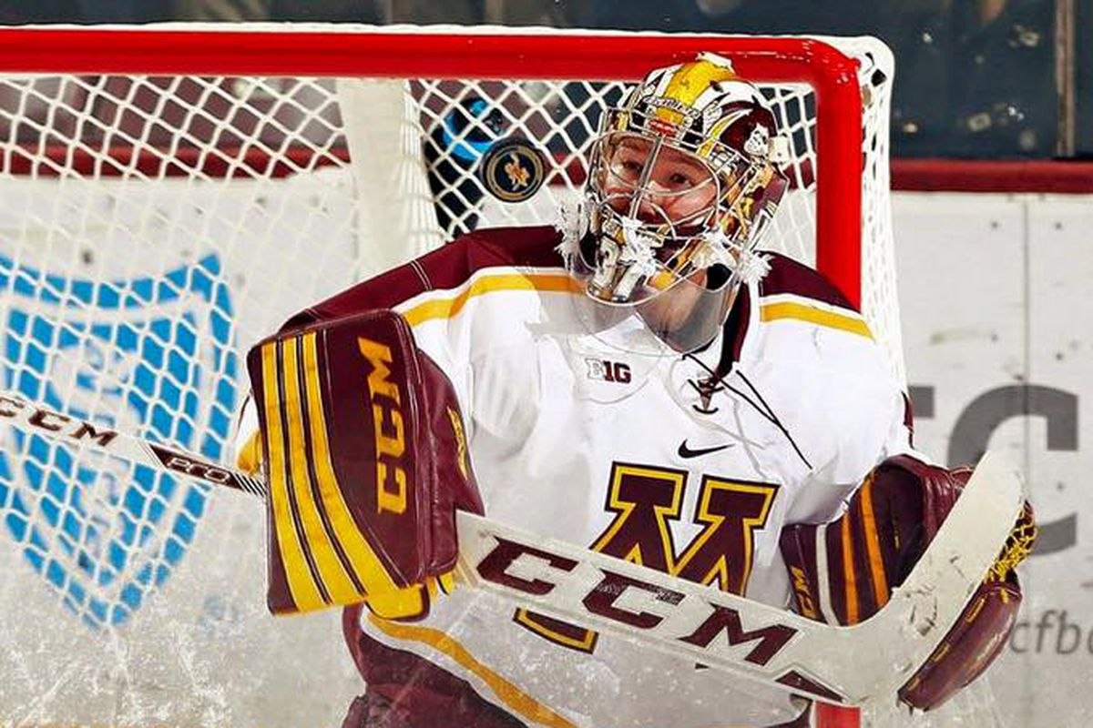 Eric Schierhorn is your 2015-16 B1G Goalie of the Year