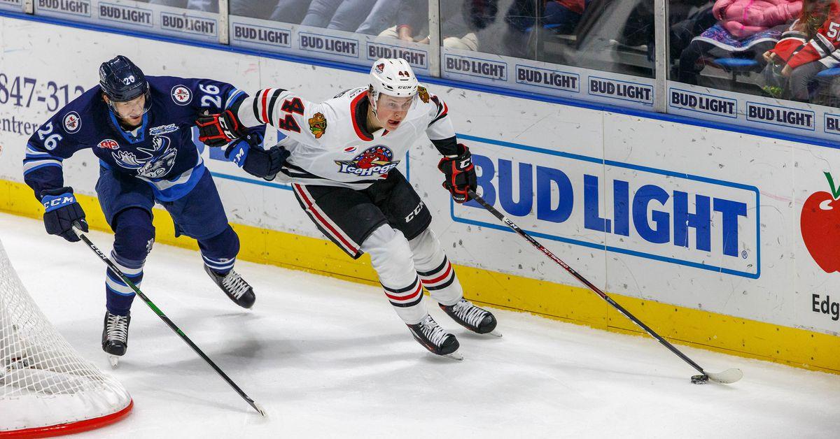 Blackhawks prospect MacKenzie Entwistle November 2019 report - Second City Hockey