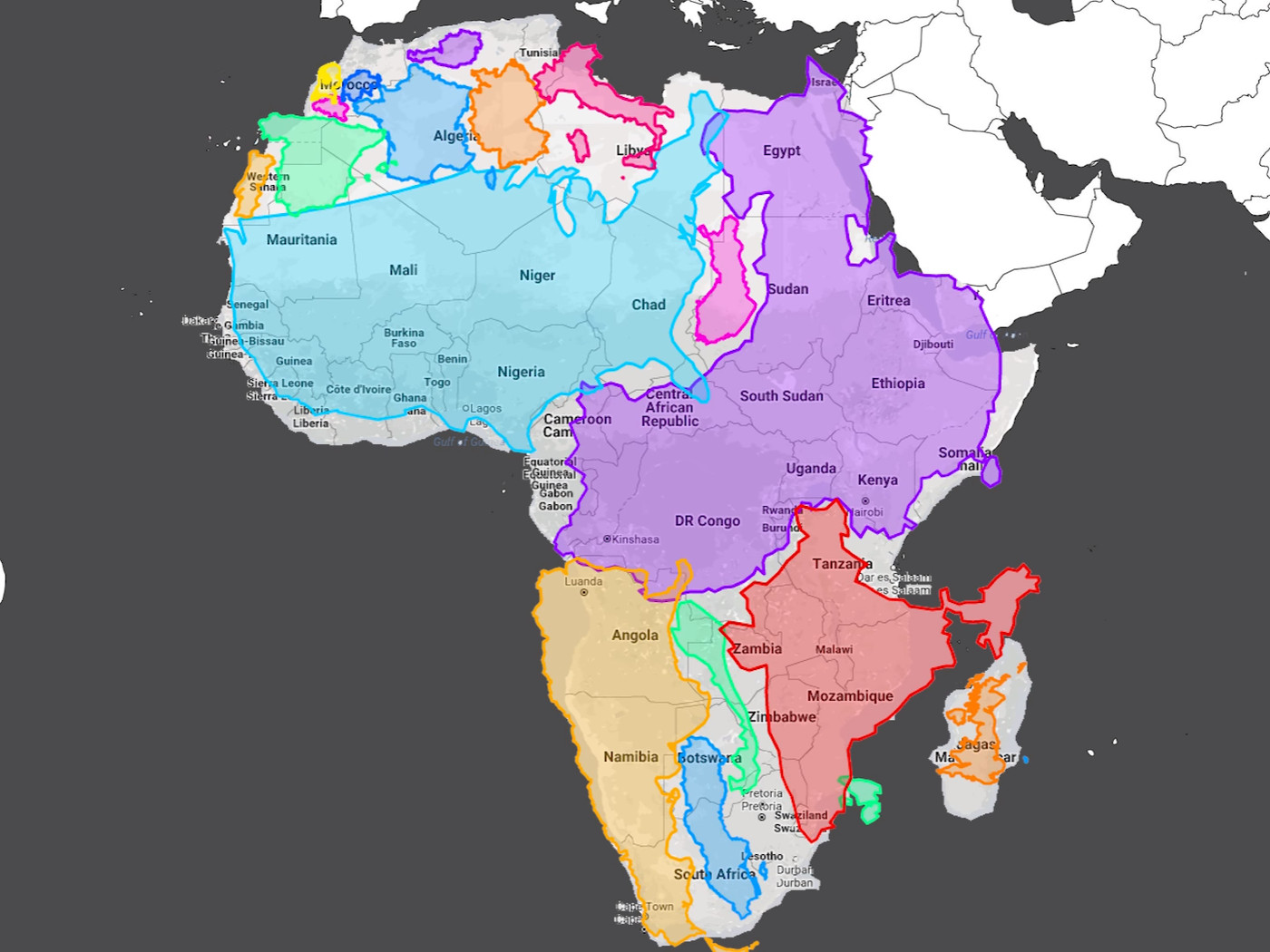 The world map you know and love its been lying to you vox gumiabroncs Choice Image