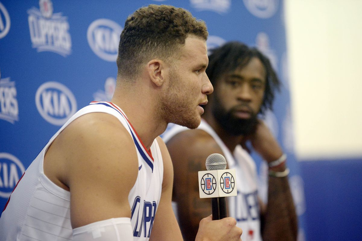 NBA: Los Angeles Clippers-Media Day