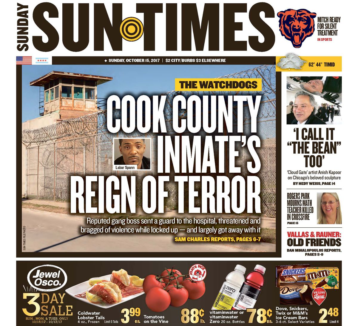 Click here to read the July 22, 2018, Sun-Times report 'Labar Spann's jailhouse reign of terror.'