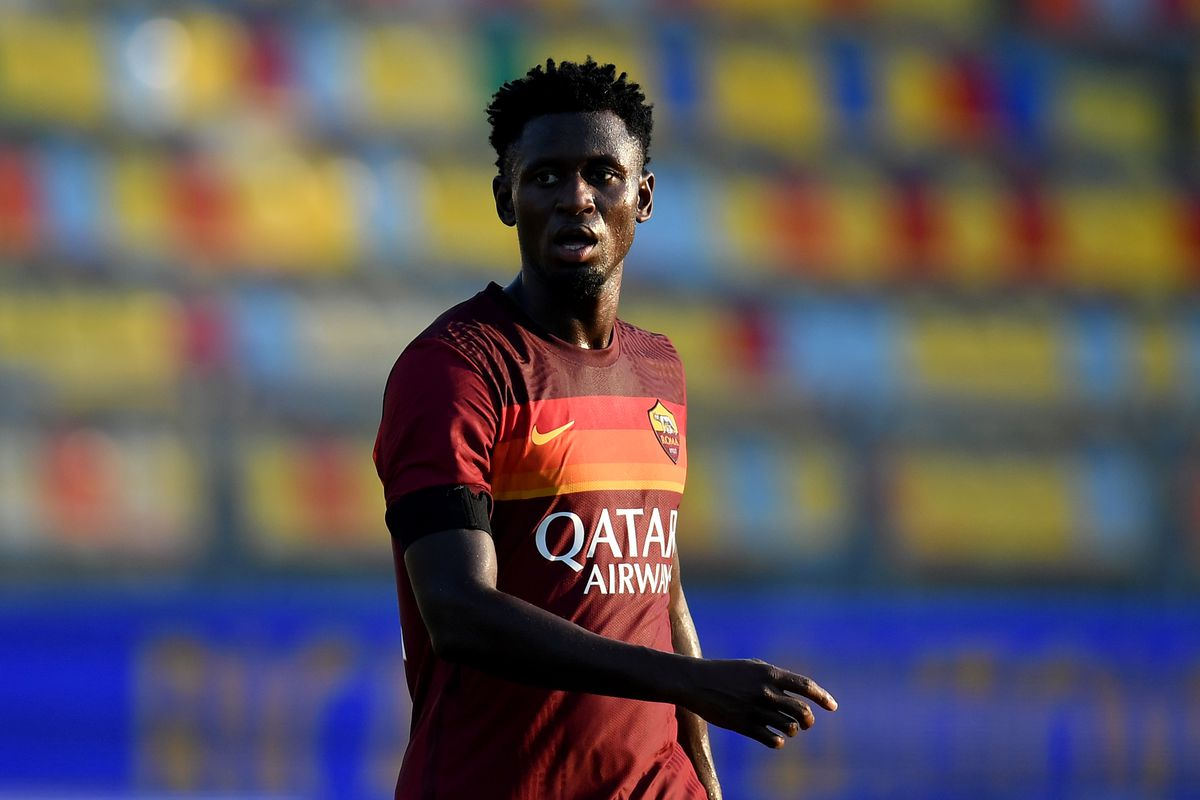 Amadou Diawara of AS Roma during the friendly football match...