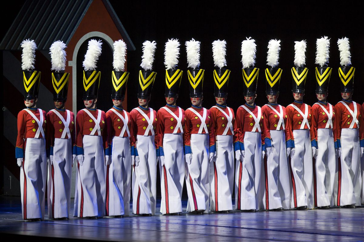 """The """"Parade of the Wooden Soldiers"""" segment from """"The Radio City Christmas Spectacular Starring the Rockettes""""   Courtesy MSG"""