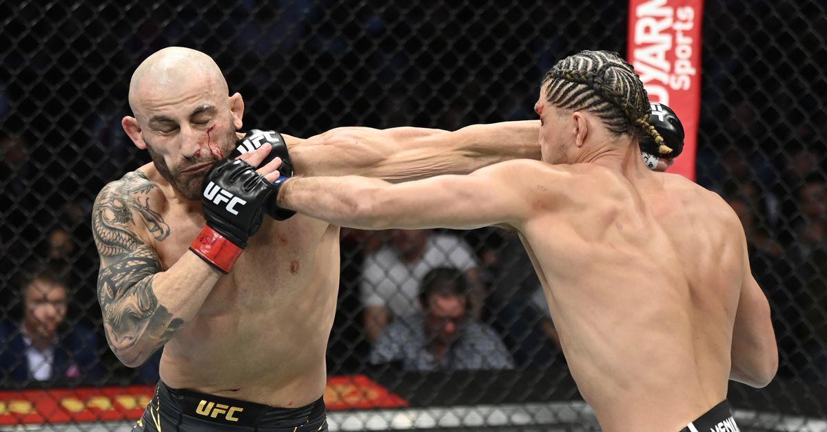 Alexander Volkanovski vs. Brian Ortega full fight video highlights