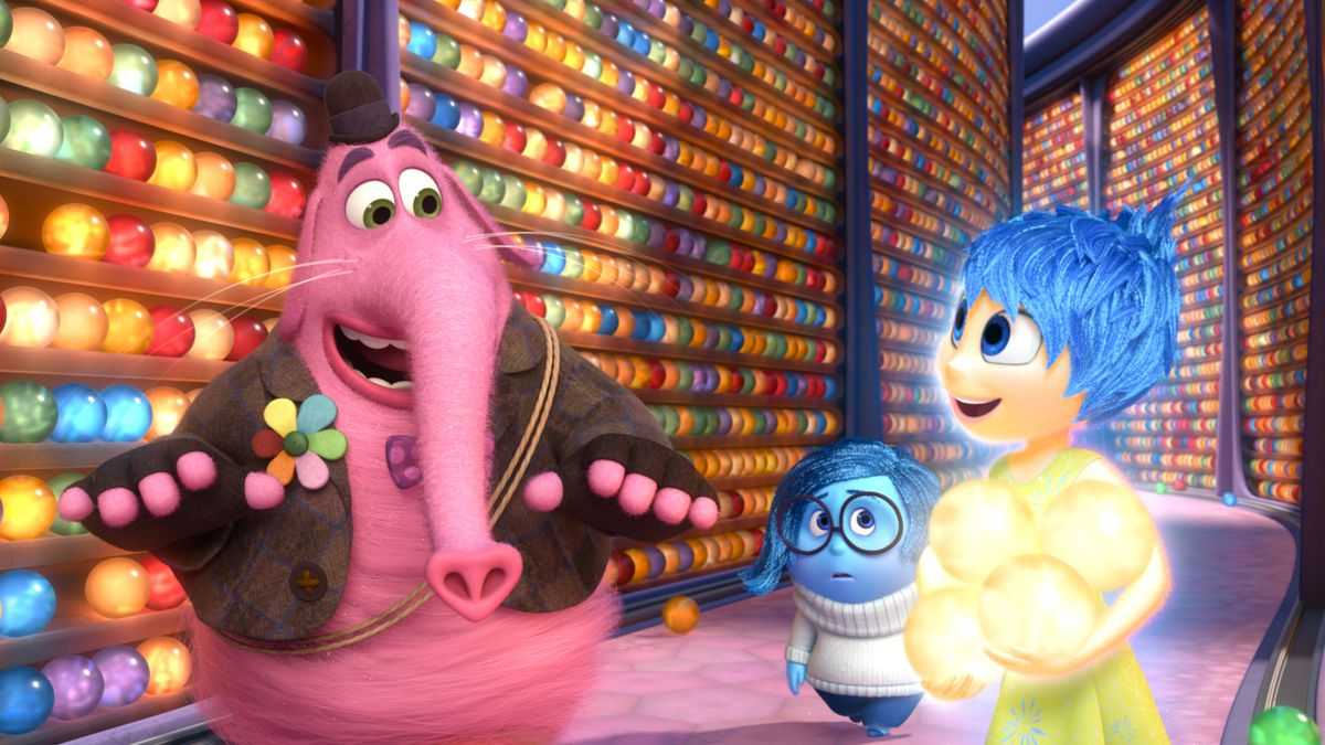 Inside Out core memories.
