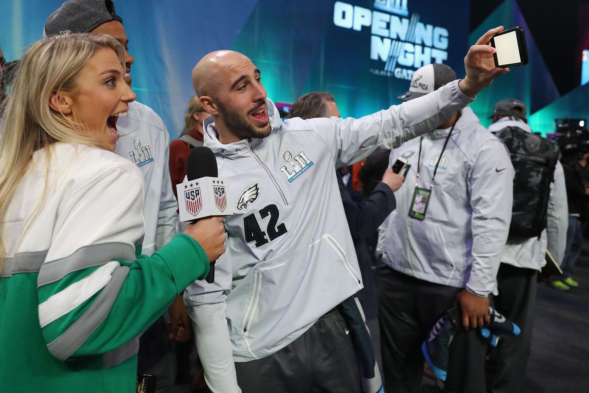 Super Bowl LII Opening Night at Xcel Energy Center