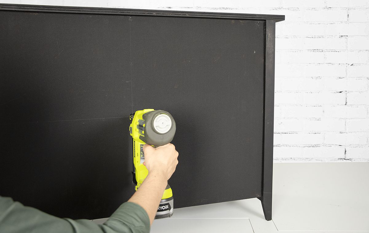 Fall 2021, Easy DIY, console cabinet, step 12