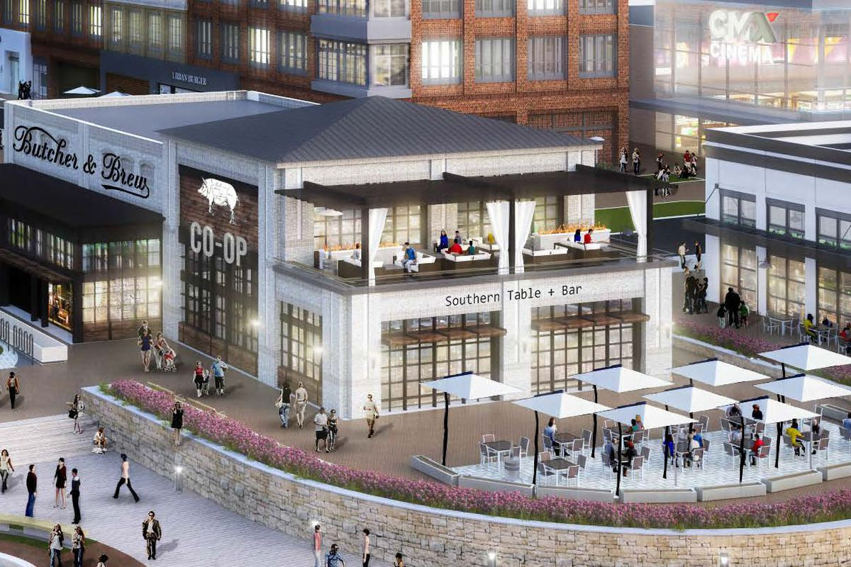 A rendering of the Halcyon development