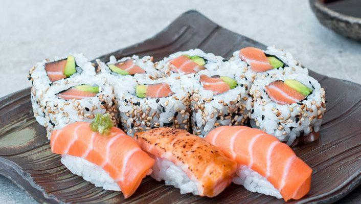 Sushi on Oxford Circus by Atariya