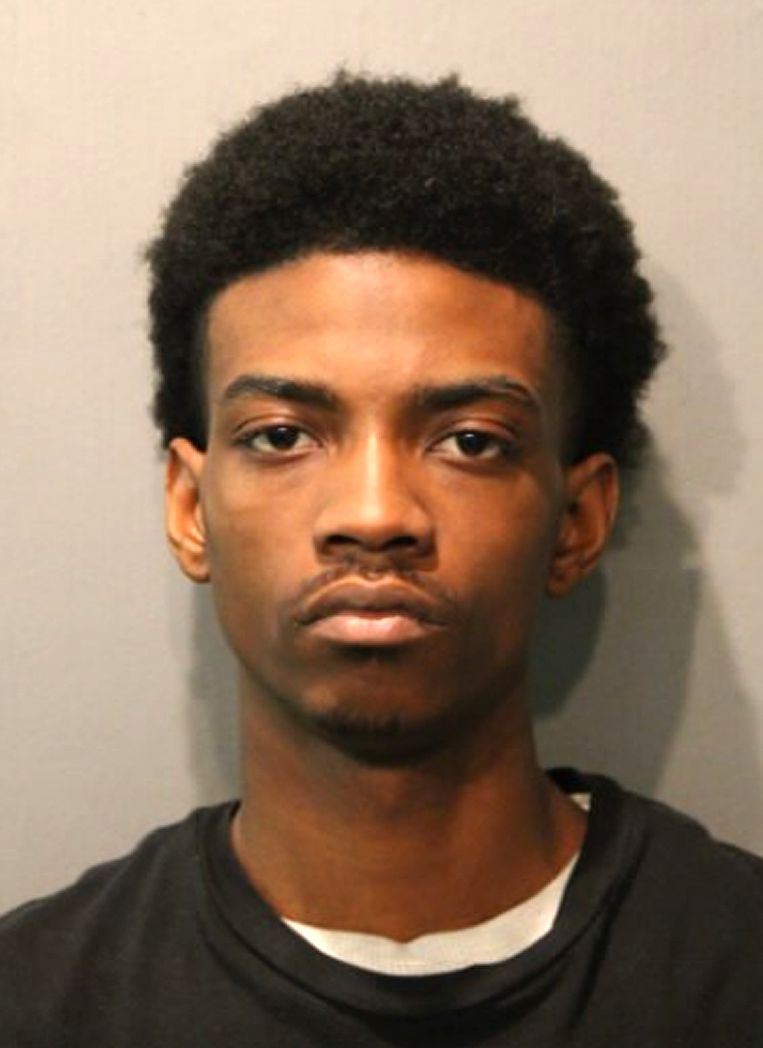 Antwan C. Jones, 19, is charged with first-degree murder in the shooting death of Takiya Holmes.   Chicago Police photo