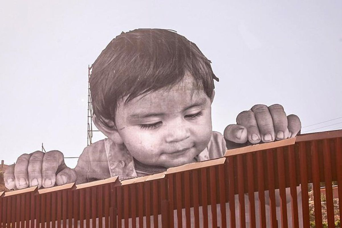 Artist Takes On Immigration Debate With Installation On