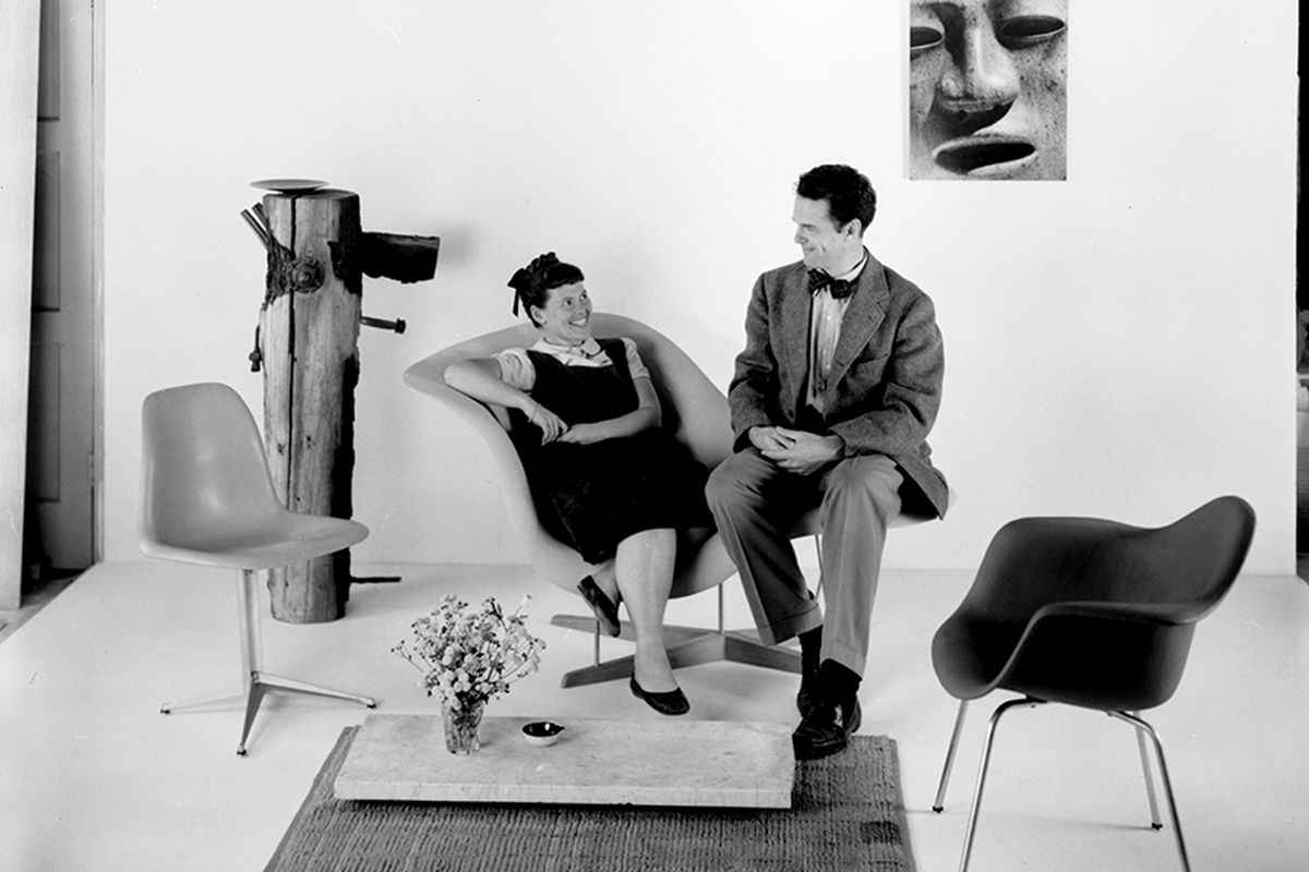 oakland museum of california opens massive eames. Black Bedroom Furniture Sets. Home Design Ideas