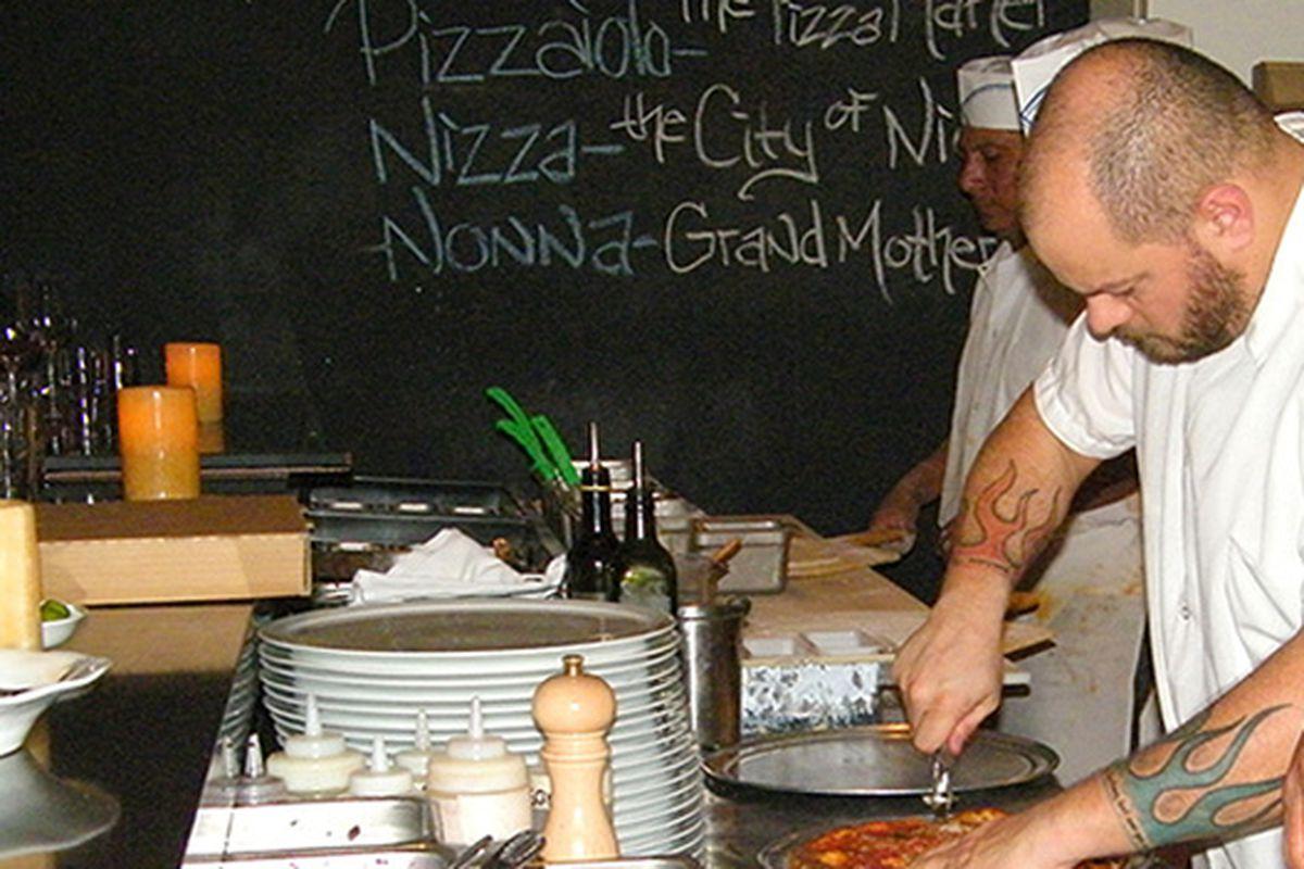 Chef Jason Travi at Riva.