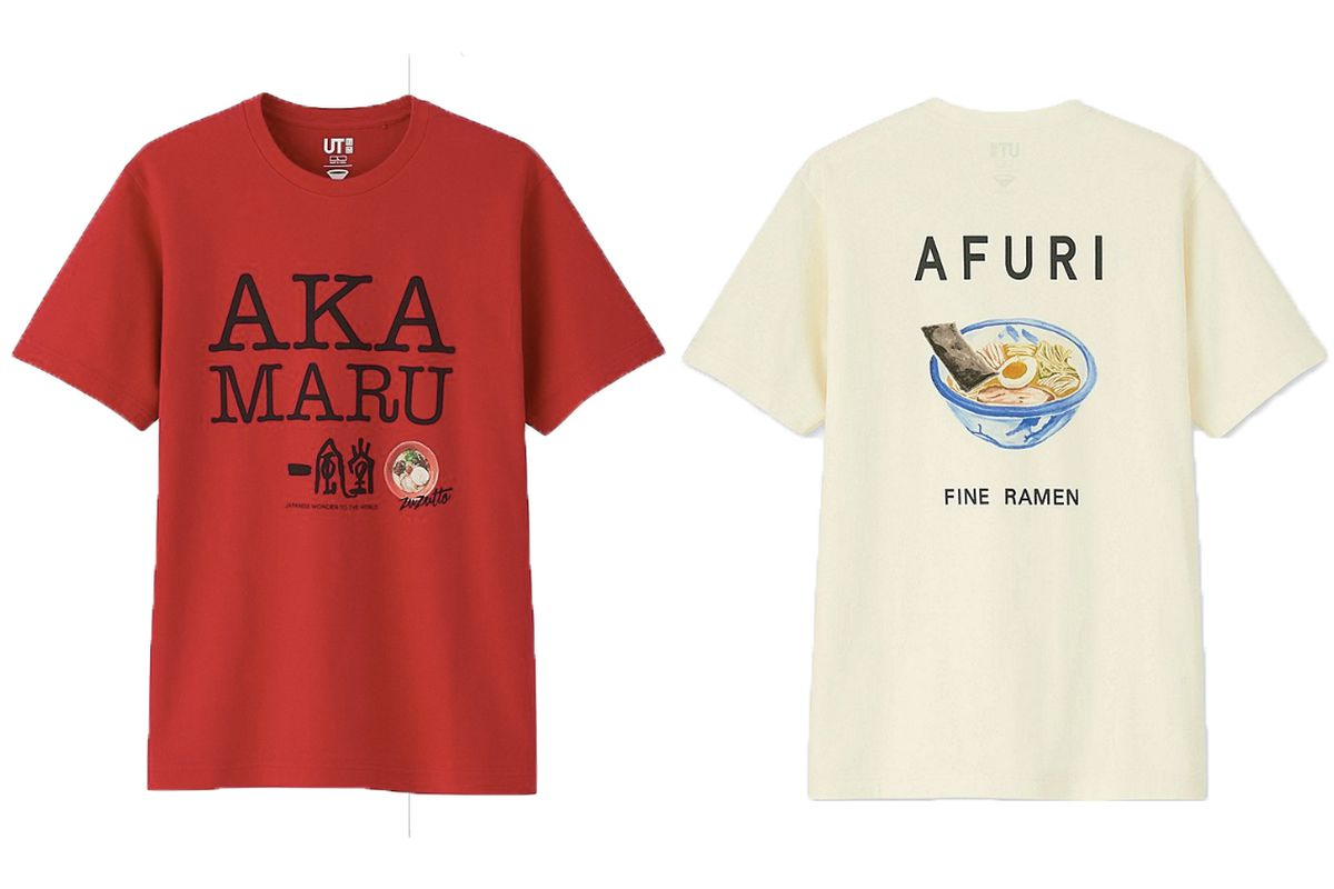 Uniqlo ramen shirts are inspired by the worlds great noodle parlors comfort stopboris Images