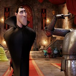 Adam Sandler voices Dracula, who created the monster-only refuge called Hotel Transylvania.