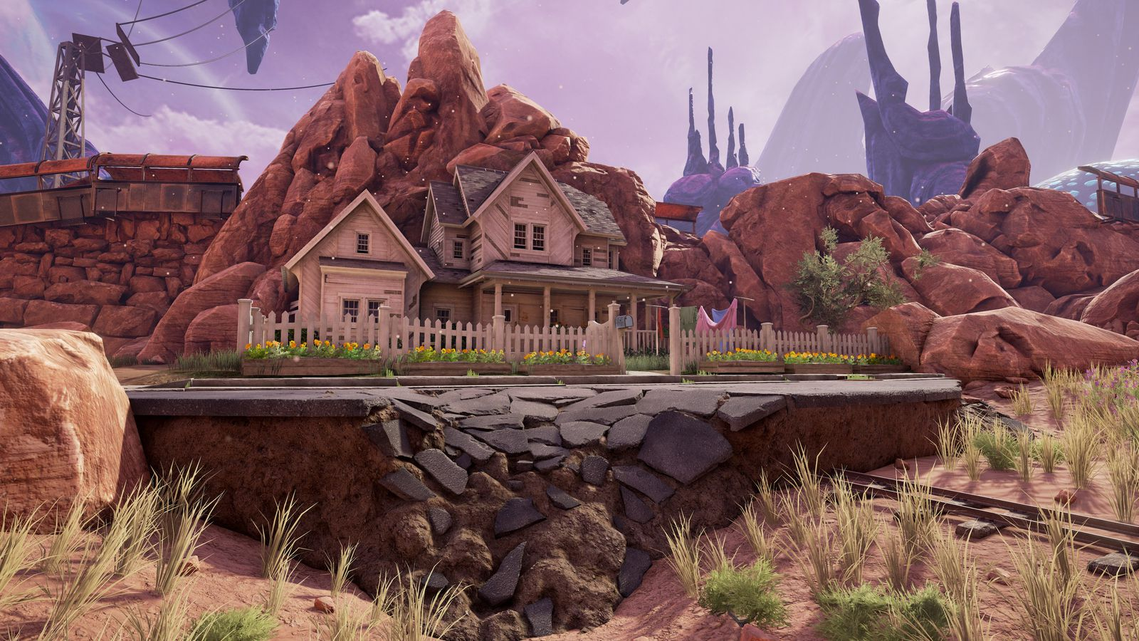 Obduction is a beautiful virtual world that shows the for World no 1 beautiful house