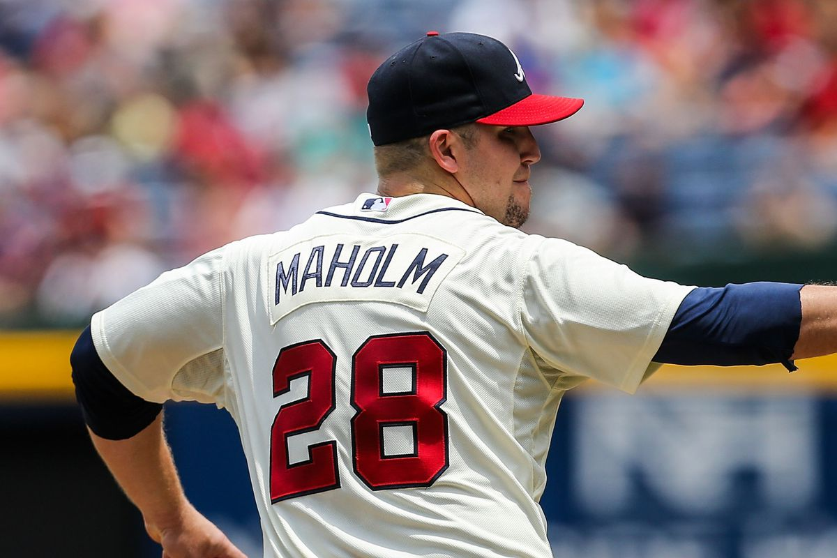 Paul Maholm has been great for the Braves since they traded for him at last year's deadline.