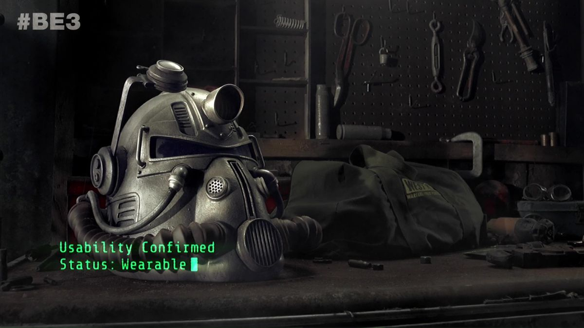 Fallout 76 special edition wearable helmet