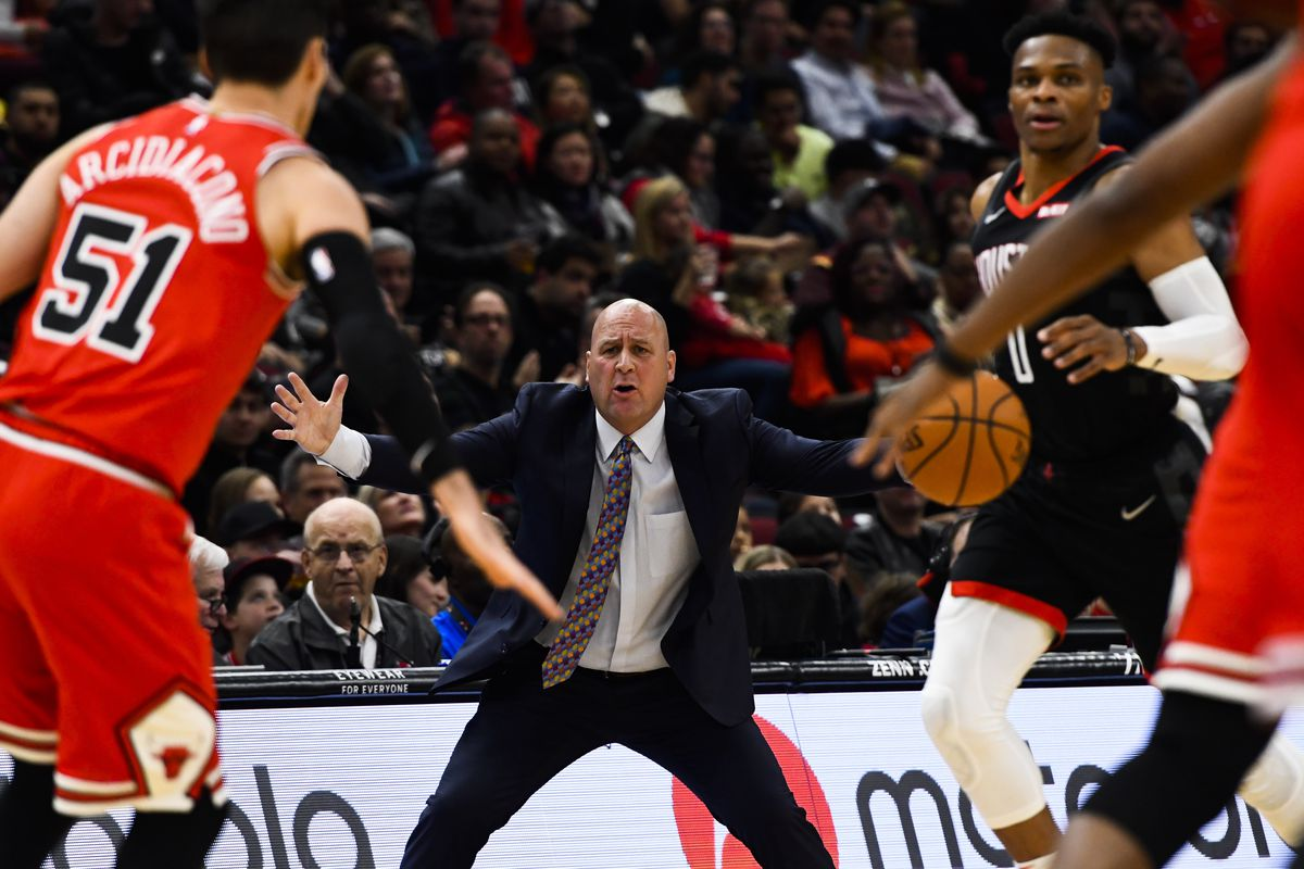 """""""We need to play our minutes with more force and more energy,'' Bulls coach Jim Boylen said."""