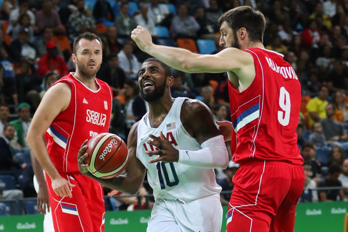 Olympics: Basketball-Men's Team-Preliminary Round USA vs SRB