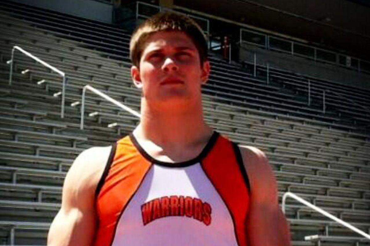 Incoming Nebraska freshman Nathan Gerry