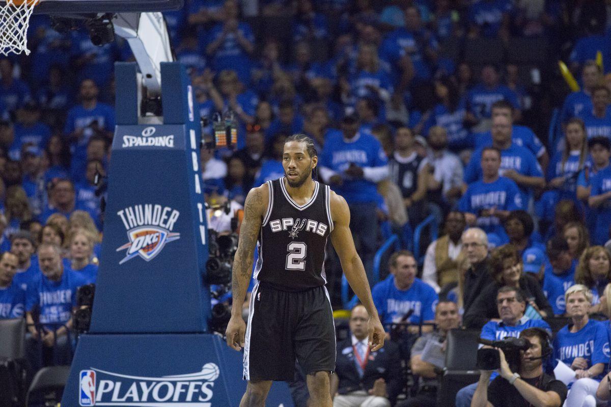 San Antonio Spurts v Oklahoma City Thunder