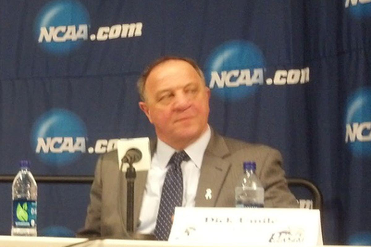 UNH head coach Dick Umile