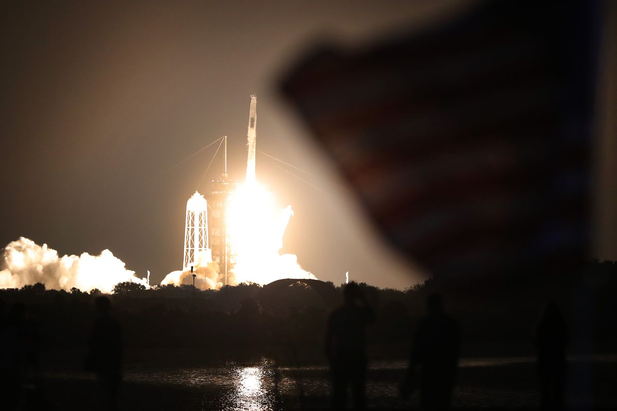 SpaceX Crew-2 Mission Launches From Cape Canaveral